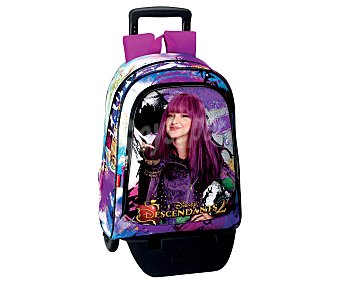 Descendants Mochila Day Pack con carro de tu personaje Beauty, DESCENDANTS.