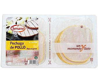 Serrano Pechugas de pollo 330 gramos