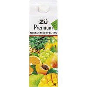 Premium Néctar multifrutas  Brik 2 litros
