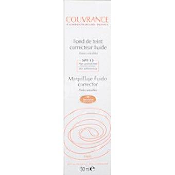 COUVRANCE Maquillaje fluído porcelana Tubo 30 ml