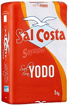 Sal Costa Fina con yodo 1 kg