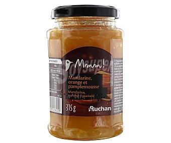 Mmm Auchan Confitura de mandarina, naranja y pomelo 315 gramos