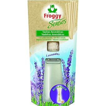 FROGGY SENSES Ambientador en varitas aroma lavanda ecológico estuche 1 unidad Estuche 1 unidad