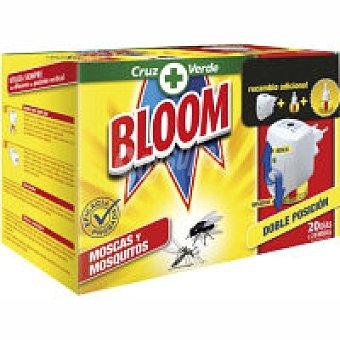 Bloom Insecticida eléctrico moscas Aparato + recambio