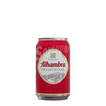 Alhambra Cerveza Premium Lager Lata 33 cl