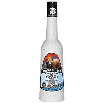 SIERRA DEL OSO crema de orujo sabor yogur  botella 70 cl
