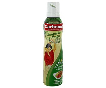 CARBONELL Aceite de oliva para ensaladas spray 200 ml