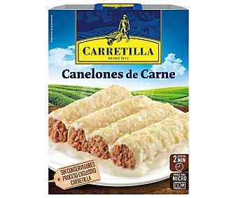 Carretilla Canelones de carne Paquete 375 g