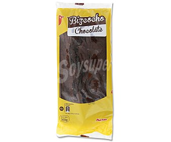 Auchan Bizcocho de chocolate 300 gr