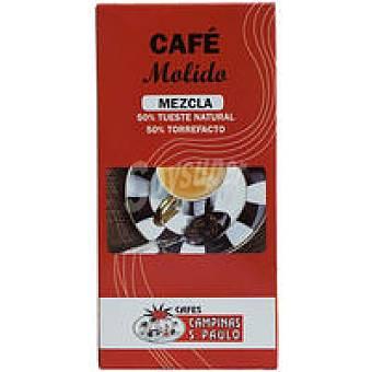Campinas Café molido mezcla 50/50 Paquete 250 g