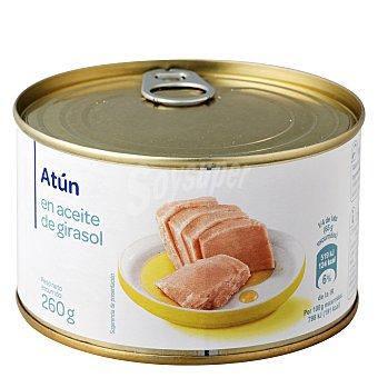 Carrefour Atún en aceite de girasol 260 g