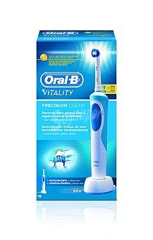 Oral-B Vitality Cross Action - Cepillo de dientes eléctrico recargable, con 7.600 oscilaciones por minuto