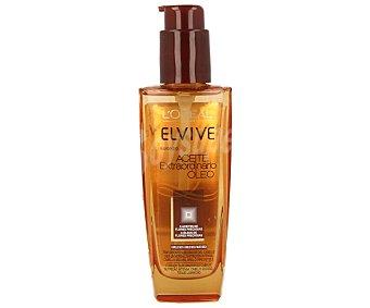 Elvive L'Oréal Paris Aceite capilar extraordinario sublimador del cabello con 6 aceites de flores preciosas frasco 100 ml para cabello seco Frasco 100 ml