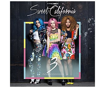 Pop-rock nacional Disco en Cd Sweet California 3. Género: pop nacional. Lanzamiento: 2 de diciembre de 2016