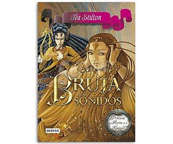 Destino Princesas del reino de la fantasía 9: La bruja de los sonidos, Tea Stilton, vv.aa. Género: juvenil. Editorial Destino