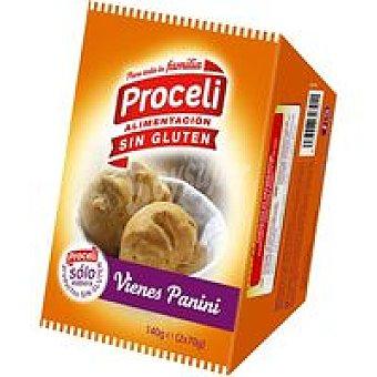 Proceli Pan vienés panini Paquete 140 g