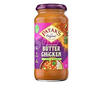 Patak's Salsa para pollo a la mantequilla, Butter chicken patak´s 450 g. 450 g