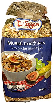Brüggen Cereal muesli frutas Paquete 1 kg