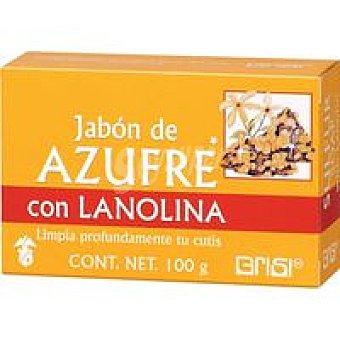GRISI Jabón dermo. azufre Bote 100 g