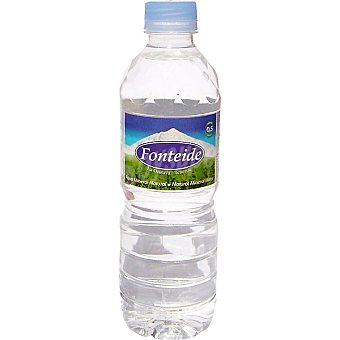 FONTEIDE Agua mineral natural Botella 50 cl
