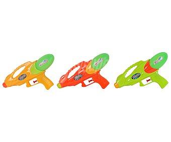 SNC Pistola de agua de 19x25 cm, capacidad del deposito de 110 mililitros y diferentes colores 1 unidad