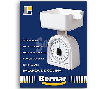 Bernar Balanza mecánica de cocina modelo Omega, de a 1 kilo, Incluye bol bernar 5 gramos
