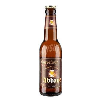 Carrefour Cerveza Abadía 33 cl