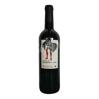 Pampaneo Vino tierra castilla tinto tempranillo ecológico Botella de 75cl