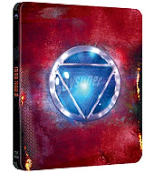 Disney Iron Man 3 steelbook BR