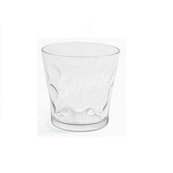 Home Style Set de 6 Vaso de Vidrio Circles 29cl - Transparente 6 ud