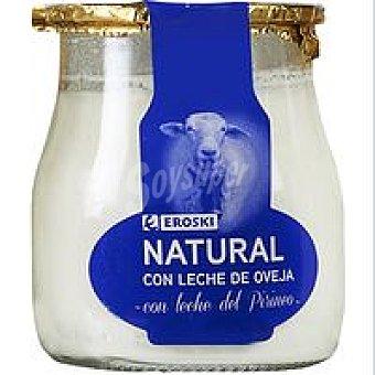 Eroski Yogur de oveja del Pirineo Tarro 125 g