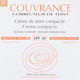 Couvrance Avene maquillaje compacto natural 9,5 g