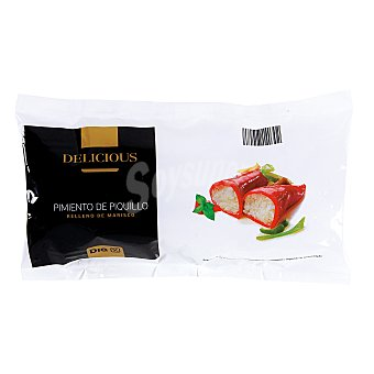 DIA Delicious Pimiento de piquillo rellenos de marisco Bolsa 200 gr