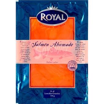 Royal Salmón ahumado Envase 100 g + 15% gratis