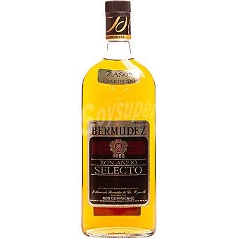 Bermudez ron añejo selecto 7 años dominicano botella 70 cl 70 cl