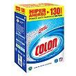 Detergente en polvo para blancos y colores 130 cacitos Colón