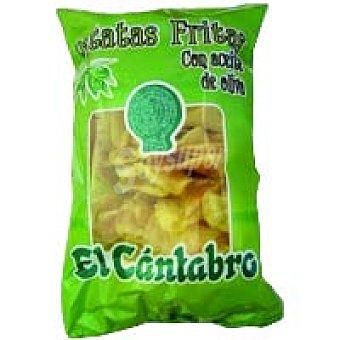 El Cantabro Patatas en aceite de oliva Bolsa 250 g