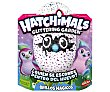 Huevo mágico con Penguala brillo mágico, peluche interactivo, Hatchimals bizak Hatchimals Penguala brillo  Bizak