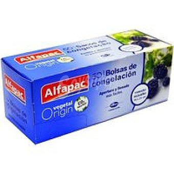 ALFAPAC Bolsa para congelar pequeña 18x25 cm Caja 50 unid