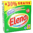 Detergente maquina polvo Maleta 30 + 9 lavados Elena