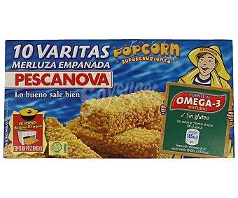 Pescanova Varitas de merluza supercrujientes (popcorn) 300 g