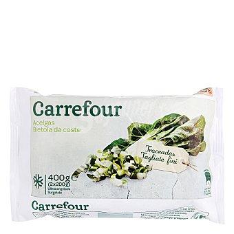 Carrefour Acelgas en hoja 400 g
