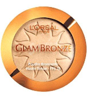 L'Oréal Polvo bronceador de larga duración Glam Bronze Nº 03 1 ud