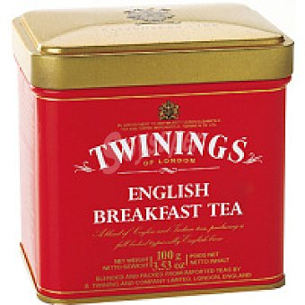 Twnings Té English Breeakfast Lata 100 g