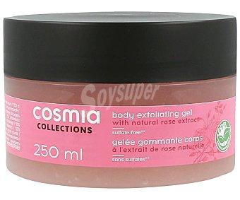 Cosmia Gelatina exfoliante, con extracto natural de rosa Collection 250 ml