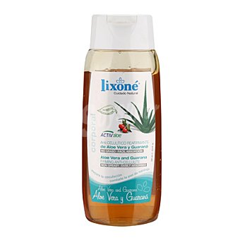 Lixone Gel anticelulítico aloe y guarana 250 ml