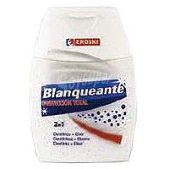 Eroski Dentrìfico 2en1 blanqueante Pack 1 unid