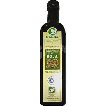 BIOLASI aceite virgen de soja ecológico  envase 500 ml