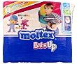 Baby Up pañales de 9 a 16 kg talla 5 bolsa 34 unidades 5 bolsa 34 unidades Moltex