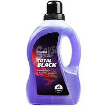 Eroski Detergente líquido prendas oscuras Garrafa 20 dosis